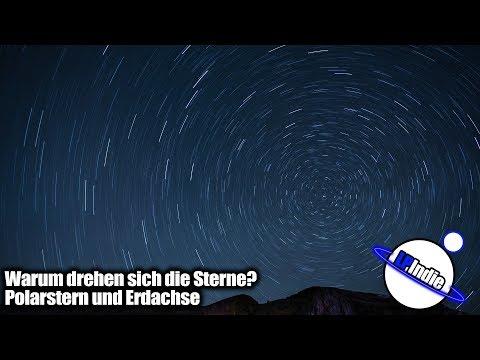 Sternbewegungen erklärt - Polarstern - Erdachse