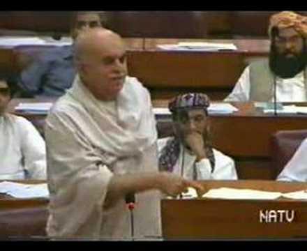 Mehmood Khan Achakzai Speech on Women Protection Bill.