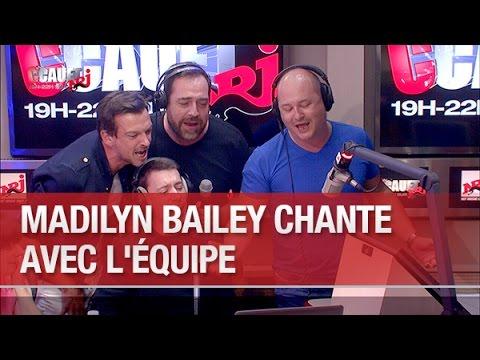 Madilyn Bailey chante avec l'équipe - C'Cauet sur NRJ