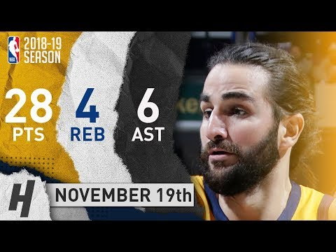 Ricky Rubio Full Highlights Jazz vs Pacers 2018.11.19 - 28 Pts, 6 Ast, 4 Rebounds!
