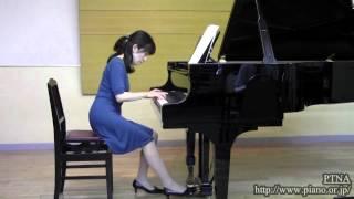 """Bartok, Bela: Gyermekeknek Sz.42 Vol.1 No.28 """"Chroral"""" pf.和田由布子"""