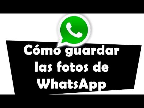 Cómo guardar las fotos de WhatsApp en el ordenador
