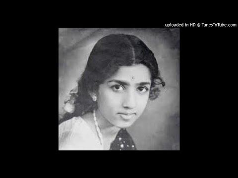 Rare Marathi song--god tujya tya swapnamadhili-Lata