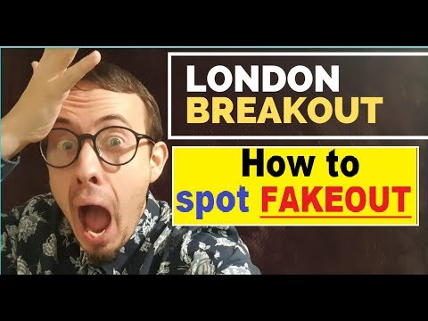 How To Spot Fake London Breakout With London Breakout Strategy