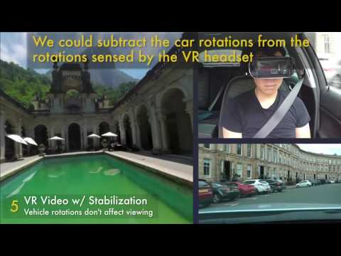 How Visual Motion Cues Can Influence Sickness For In-Car VR