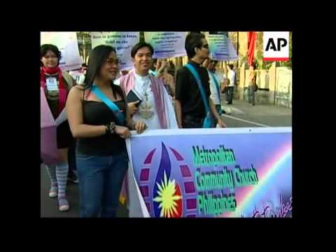 200 lesbian, gay, bisexual and transgender youths hold parade in capital