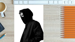 alan walker | the spectre | drawing |HD|