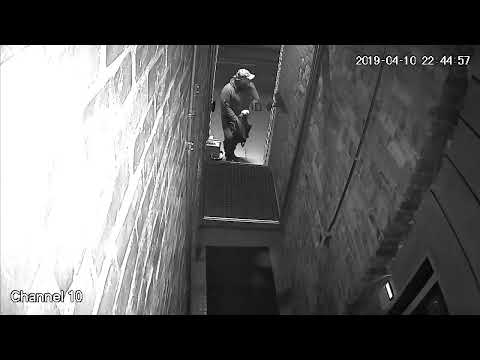 Man Wanted In Multiple Break And Enter Downtown Toronto (Video 1 of 2)