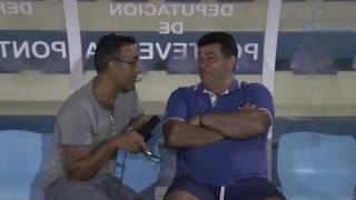 Miguel García presidente do Club Deportivo Arcade