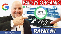 Organic Ranking vs Pay Per Click 2019 - Rank #1 on Google Organic