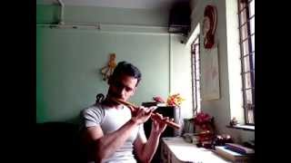 Download A R Rahman Saathiya (Snegithane-Alaypayuthey) Flute by Himanshoo MP3 song and Music Video