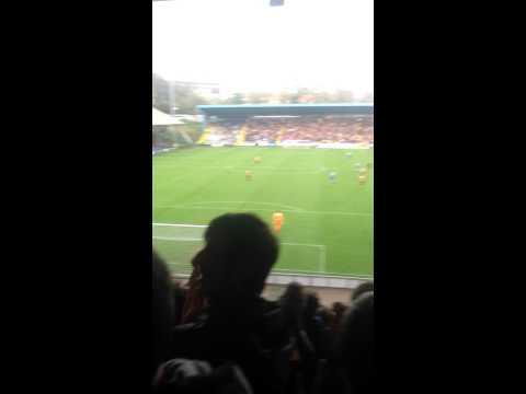 Bradford city vs halifax chanting