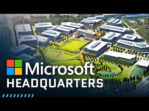 Inside Microsoft's Massive Headquarters