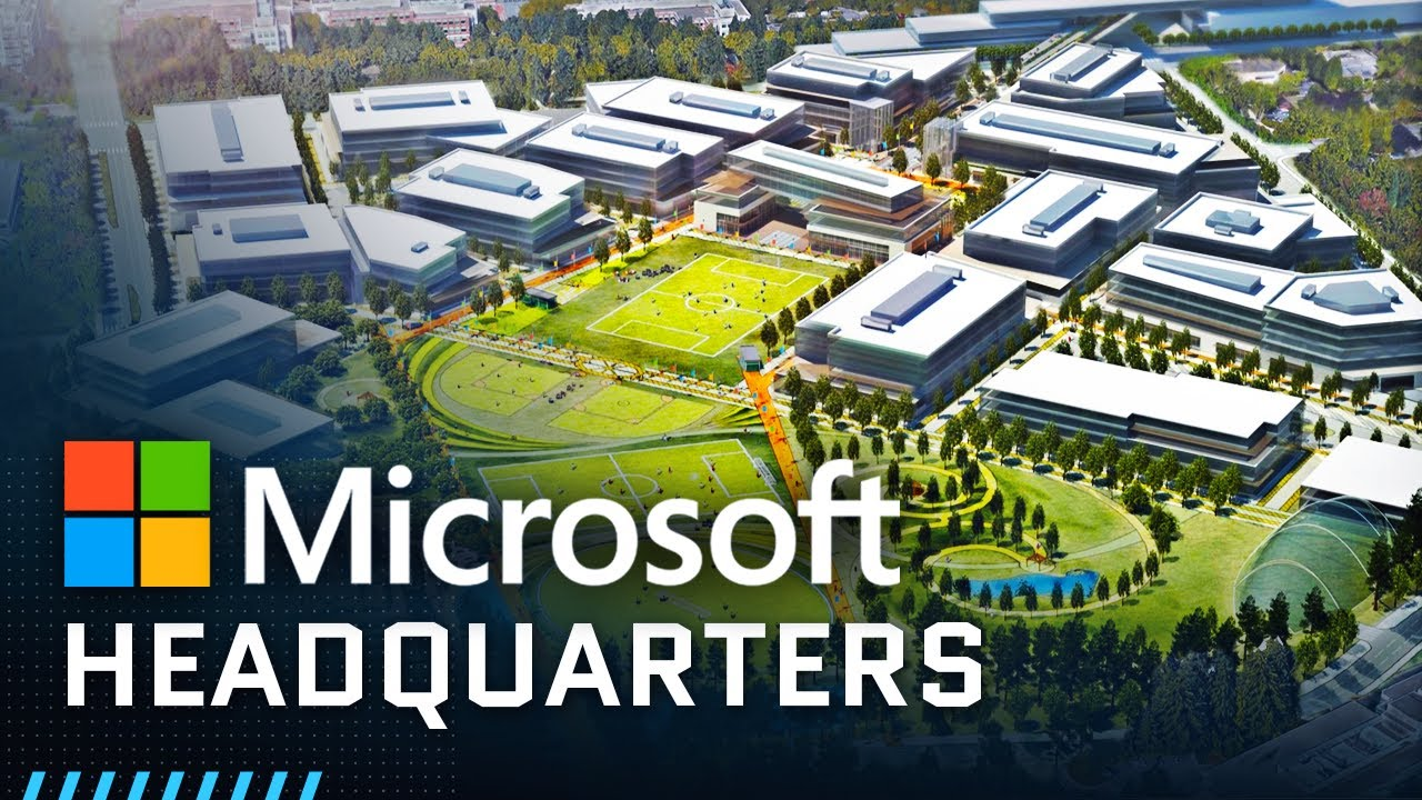 Download Inside Microsoft's Massive Headquarters