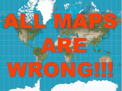 Flat Earth All Other Maps Are Wrong Youtube