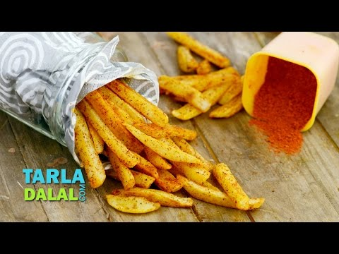 Low  Fat French Fries by Tarla Dalal