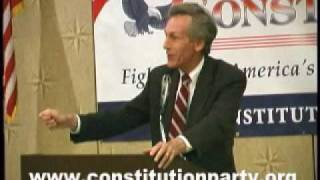 Constitution Party Speaker - Virgil Goode - Part Three