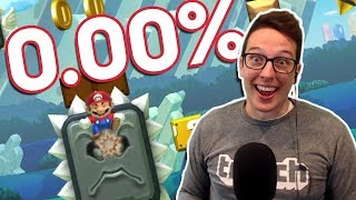 Clearing 0.00% Levels Before MARIO MAKER 2 COMES OUT!!!