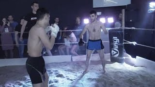ONE-ARMED SOLDIER vs MMA Fighter !!!! Respect !!!