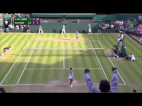 2015 Day 5 Highlights, Serena Williams vs Heather Watson