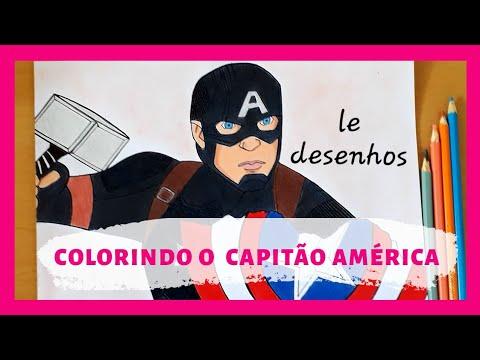 Desenhos Do Capitao America Para Imprimir