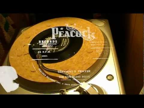 Servant's Prayer - The Five Blind Boys (Peacock)