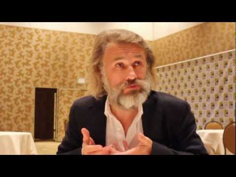 Christoph Waltz Interview Comic-Con 2012