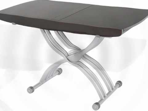 Table basse relevable lea wenge youtube for Table basse relevable wenge
