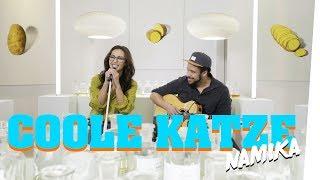 """Namika singt """"Coole Katze"""" (Live im Bongo Boulevard)"""