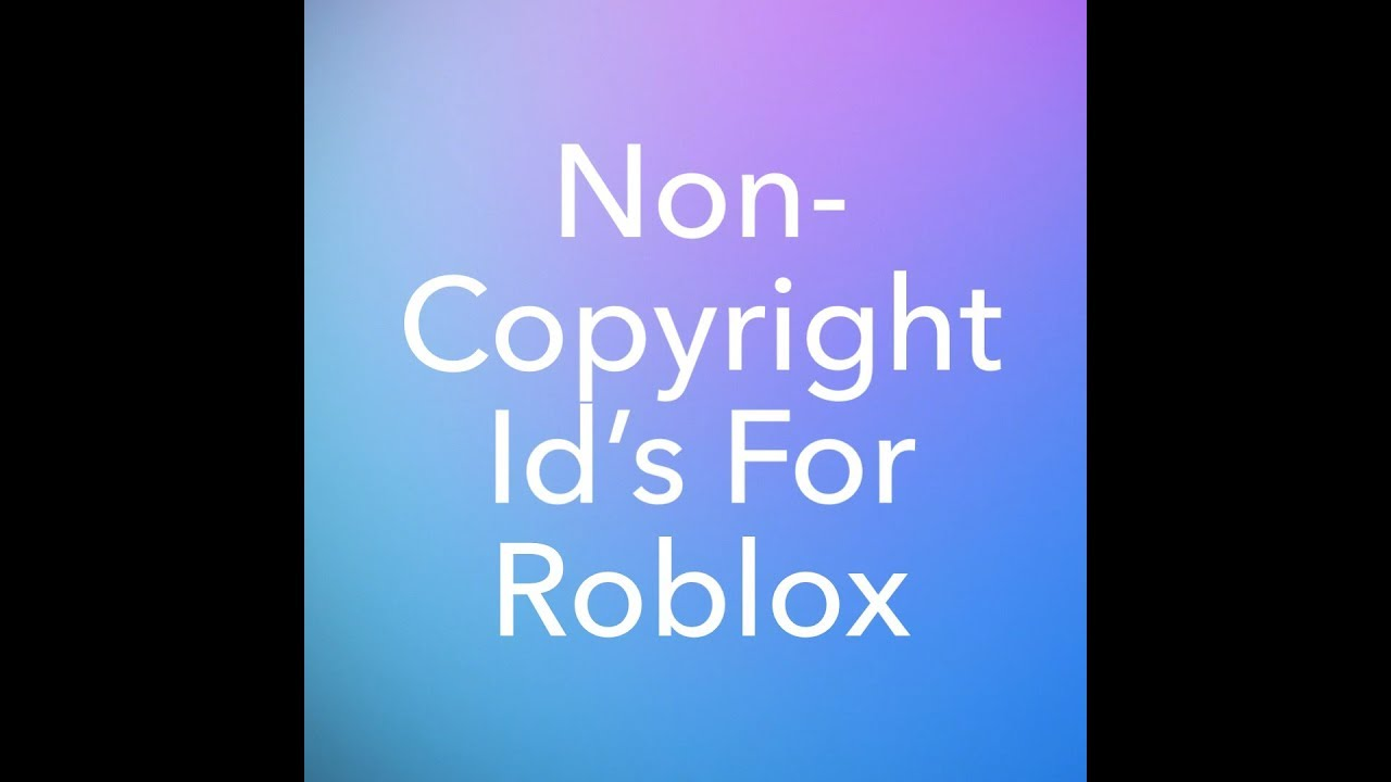 5 Roblox Song Codes Not Copyrighted Roblox Youtube