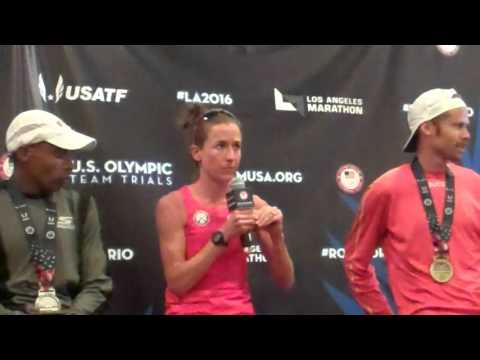 Amy Cragg discusses changes and preparation in training before the Olympic Marathon Trials