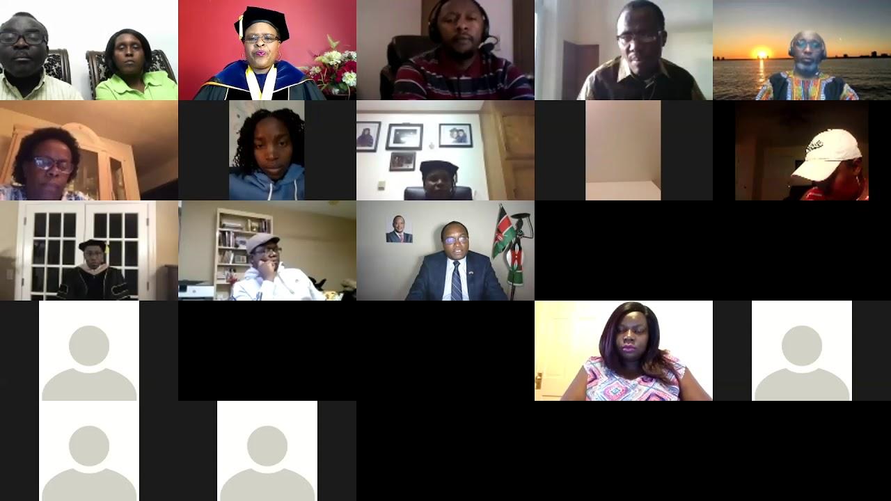 Celebrating Class of 2020 Kenya Students in Diaspora