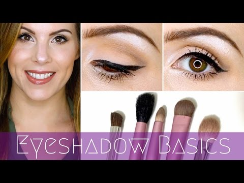 makeup 101 ♡ eyeshadow basics for beginners tutorial