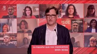 Comité Federal del PSOE desde Barcelona