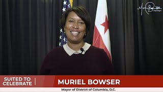 A Welcome from Washington DC's Mayor Muriel Bowser
