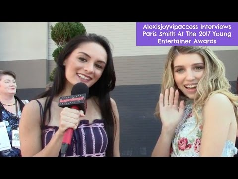 Every Witch Way's Paris Smith  With Alexisjoyvipaccess  Young Entertainer Awards