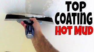 Top Coating over 20 Minute Mud- Diy Drywall Repair Tips and Tricks