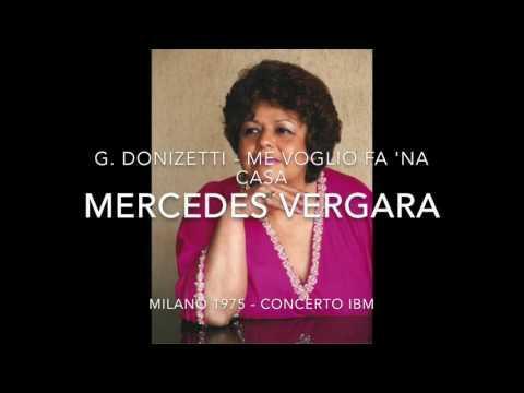 """Mercedes Vergara """"Me Voglio fa 'na Casa"""" (Donizetti) - live 1975"""