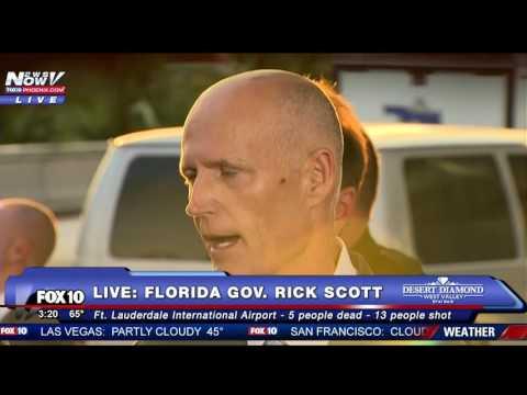 FORT LAUDERDALE SHOOTING: Florida Gov. Rick Scott Holds Press Conference
