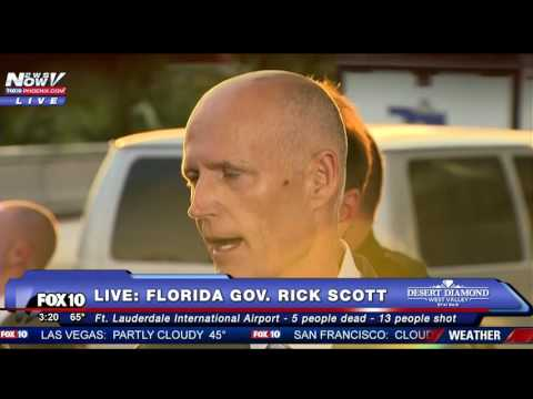 FNN: FORT LAUDERDALE SHOOTING: Florida Gov. Rick Scott Holds Press Conference