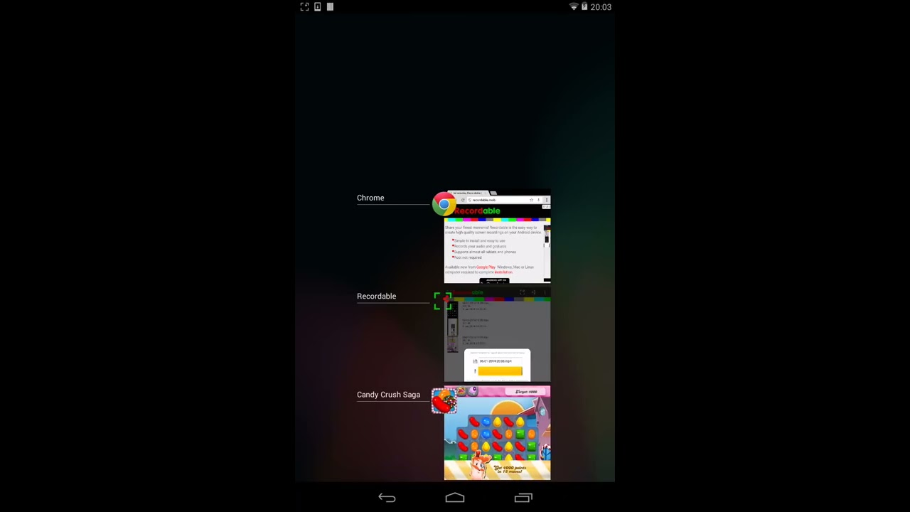 scr screen recorder apk here