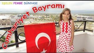 Cumhuriyet Bayramı - Balkonumuza Bayrak Asıyoruz ve Şiir Okuyoruz - Eğitici Çocuk Videosu