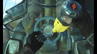Как отжать силовую броню в Fallout 4 Легко