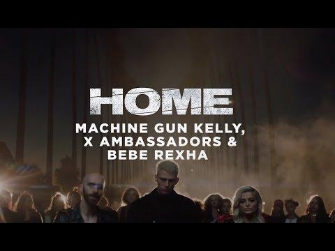 Machine Gun Kelly, X Ambassadors & Bebe Rexha - Home Music Video Trailer [Video Available 11/23]
