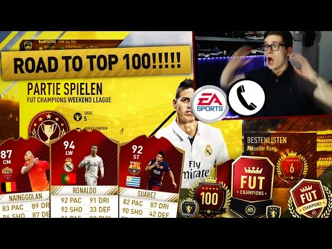 FIFA 17: ROAD TO TOP 100 FUT CHAMPIONS! ANRUF BEI EA! 🔥 - FIFA 17 ULTIMATE TEAM (DEUTSCH) - OMG!