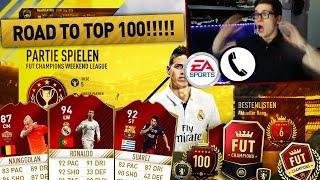 FIFA 17: ROAD TO TOP 100 FUT CHAMPIONS! ANRUF BEI EA! 🔥 - FIFA 17 ULTIMATE TEAM (DEUTSCH) - OMG!