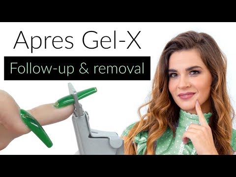 Apres Gel - X Nails Removal & Follow-up