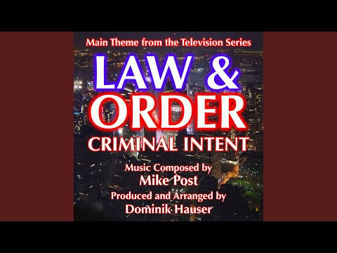Law & Order: Criminal Intent  Theme from the TV Series