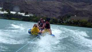 Falling off the Banana Boat