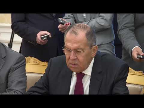 Смотреть фото С.Лавров на встрече